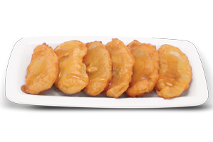Fried Apple With Honey
