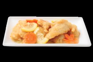 Fish In Lemon Sauce