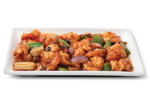 Shrimp In Black Beans Sauce