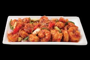Shrimp In Garlic & Chilli Sauce