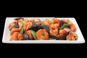 Shrimp In Black Bean Sauce